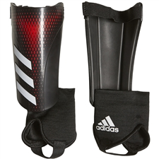 Adidas Youth Predator 20 Match Shin Guards (Black/Active Red)