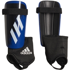 Adidas Youth X 20 Match Shin Guards (White/Team Royal Blue/Black)