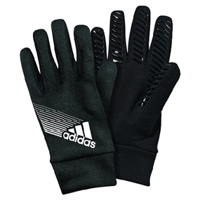 Adidas CLIMAPROOF Field Player Soccer Gloves (Black/White)