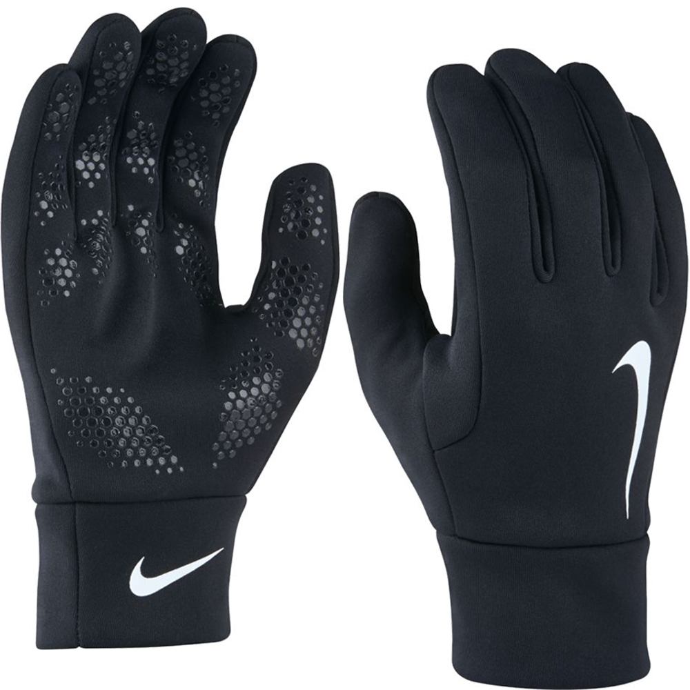 Nike Gloves Hyperwarm Cheap: Nike Hyperwarm Field Player Soccer Gloves (Black/White