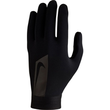 Nike Hyperwarm Academy Field Player Soccer Gloves (Black)