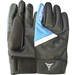 Select Winter Field Player Soccer Gloves (Black/Blue)