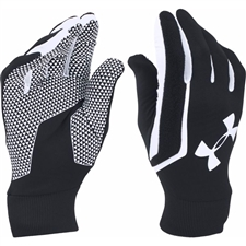 Under Armour Field Player Soccer Gloves (Black/White)