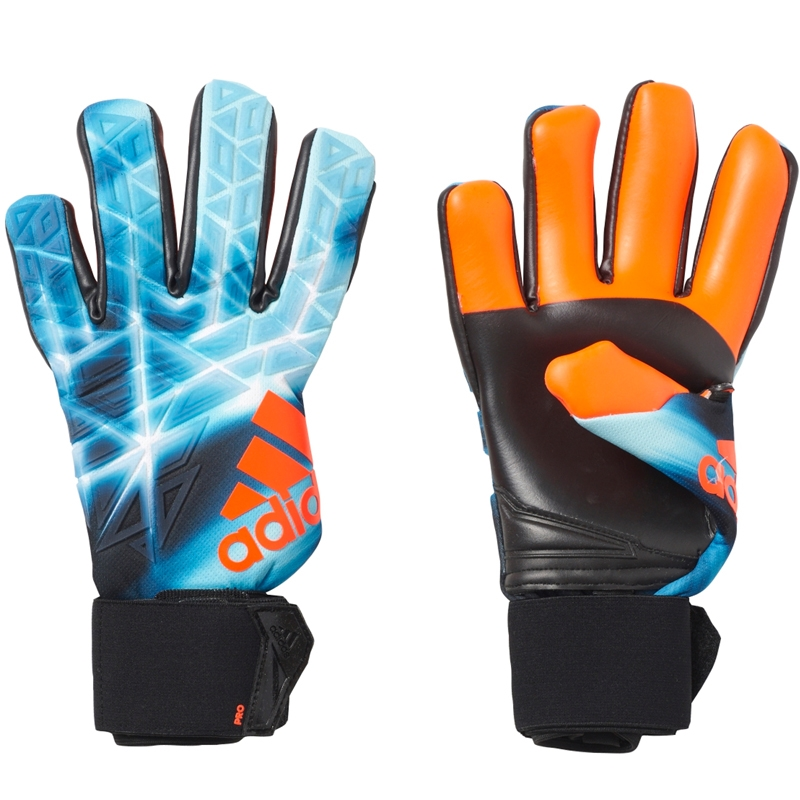 uk availability 592fd cb24f Adidas ACE Trans Pro Manuel Neuer Soccer Goalkeeper Gloves (Energy  Blue/Black)