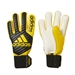 Adidas Classic Pro Goalkeeper Gloves (Core Black/Yellow)