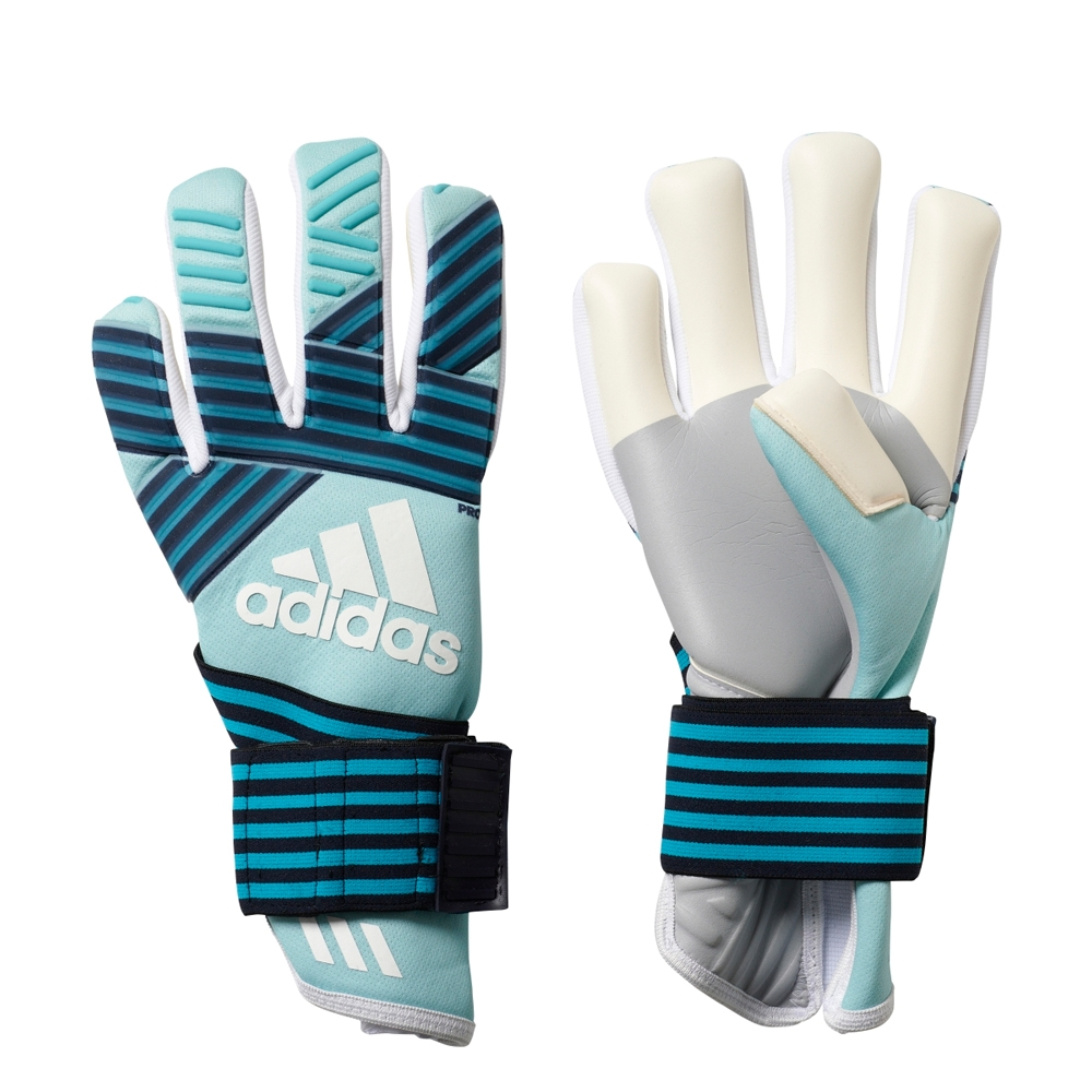 differently 7ce46 d3405 Adidas ACE Trans Pro Goalkeeper Gloves (Energy Aqua/Energy Blue/Legend Ink)