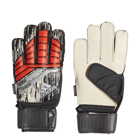 Adidas Predator Fingersave Junior Manuel Neuer Goalkeeper Gloves (Solar Red/Black/Silver Metallic)