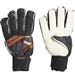 Adidas Predator Pro Fingersave Goalkeeper Gloves (Black/Solar Red/Copper Gold)