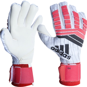 Adidas Predator Pro Goalkeeper Gloves (Real Coral/Black/White)