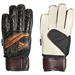 Adidas Predator Fingersave Junior Goalkeeper Gloves (Black/Solar Red/Copper Gold)