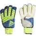 Adidas Predator Ultimate Goalkeeper Gloves (Solar Yellow/Black/Football Blue)