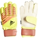 Adidas Predator Fingersave Junior Goalkeeper Gloves (Solar Yellow/Solar Red/Black)