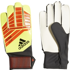 Adidas Predator Junior Goalkeeper Gloves (Solar Red/Solar Yellow/Black)