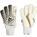 Adidas Classic Fingersave Goalkeeper Gloves (White/Core Black)