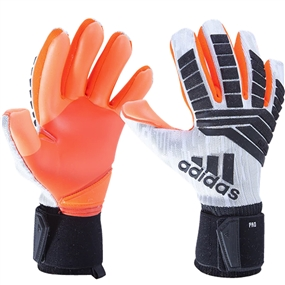 Adidas Predator Pro Manuel Neuer Goalkeeper Gloves (White/Black/Solar Red)