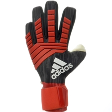 Adidas Predator Pro Goalkeeper Gloves (Black/Red/White)