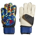 Adidas Predator Fingersave Junior Manuel Neuer Goalkeeper Gloves (Solar Yellow/Football Blue/Active Red)