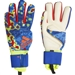 Adidas Predator Pro Manuel Neuer Goalkeeper Gloves (Solar Yellow/Football Blue/Active Red)