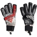 Adidas Predator Pro Fingersave Goalkeeper Gloves (Silver Metallic/Black/Hi-Res Red)