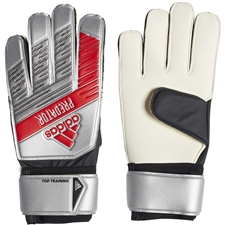 Adidas Predator Top Training Goalkeeper Gloves (Silver Metallic/Black)