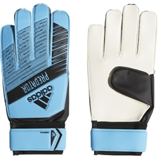 Adidas Predator Training Goalkeeper Gloves (Bright Cyan/Black)