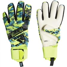 Adidas Predator Pro Manuel Neuer Goalkeeper Gloves (Solar Yellow/Bright Cyan/Black)