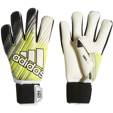 Adidas Classic Pro Goalkeeper Gloves (Black/Solar Yellow/White)