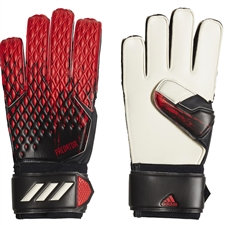 Adidas Predator 20 Match Goalkeeper Gloves (Black/Active Red)