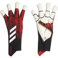 Adidas Predator 20 Pro Hybrid Goalkeeper Gloves (Black/Active Red)