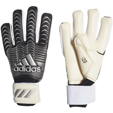 Adidas Classic Pro Goalkeeper Gloves (White/Black/Silver Metallic)