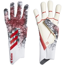 Adidas Predator 20 Pro Manuel Neuer Goalkeeper Gloves (White/Black/Active Red)