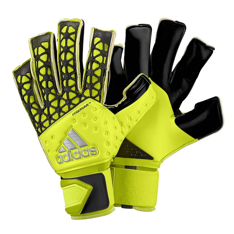 ACE Zones Allround Fingersave Goalkeeper Gloves (Solar Yellow Black ... f2bbe235bacc