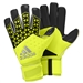 Adidas ACE Zones Finger Tip Goalkeeper Gloves (Solar Yellow/Semi Solar Yellow/Black)