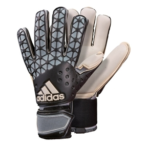 Adidas ACE Pro Classic Soccer Goalkeeper Gloves (Black/Dark Solid Grey/White)