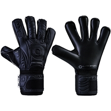 Elite Sport Black Solo Goalkeeper Gloves (Black)