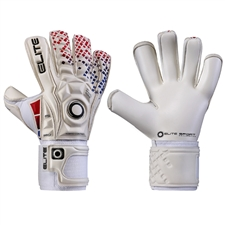 Elite Sport Lion Goalkeeper Gloves (White)