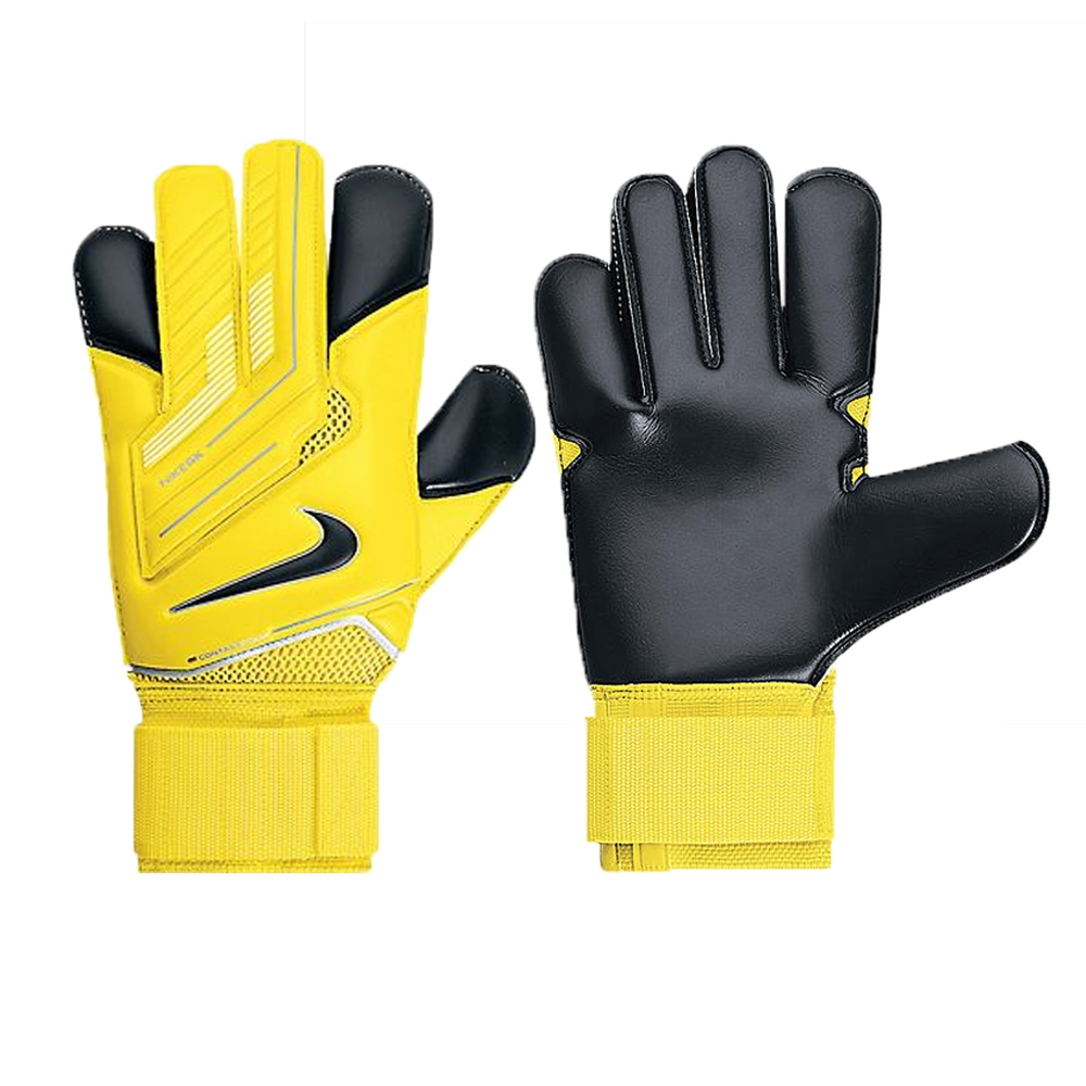 Black nike goalkeeper gloves - Nike Goalkeeper Vapor Grip3 Soccer Gloves Yellow Black Black