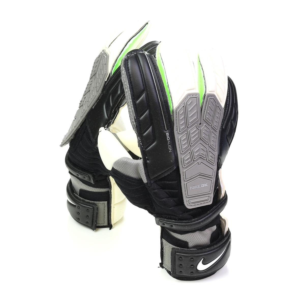 Black nike goalkeeper gloves - Nike Confidence Soccer Goalkeeper Glove Black White