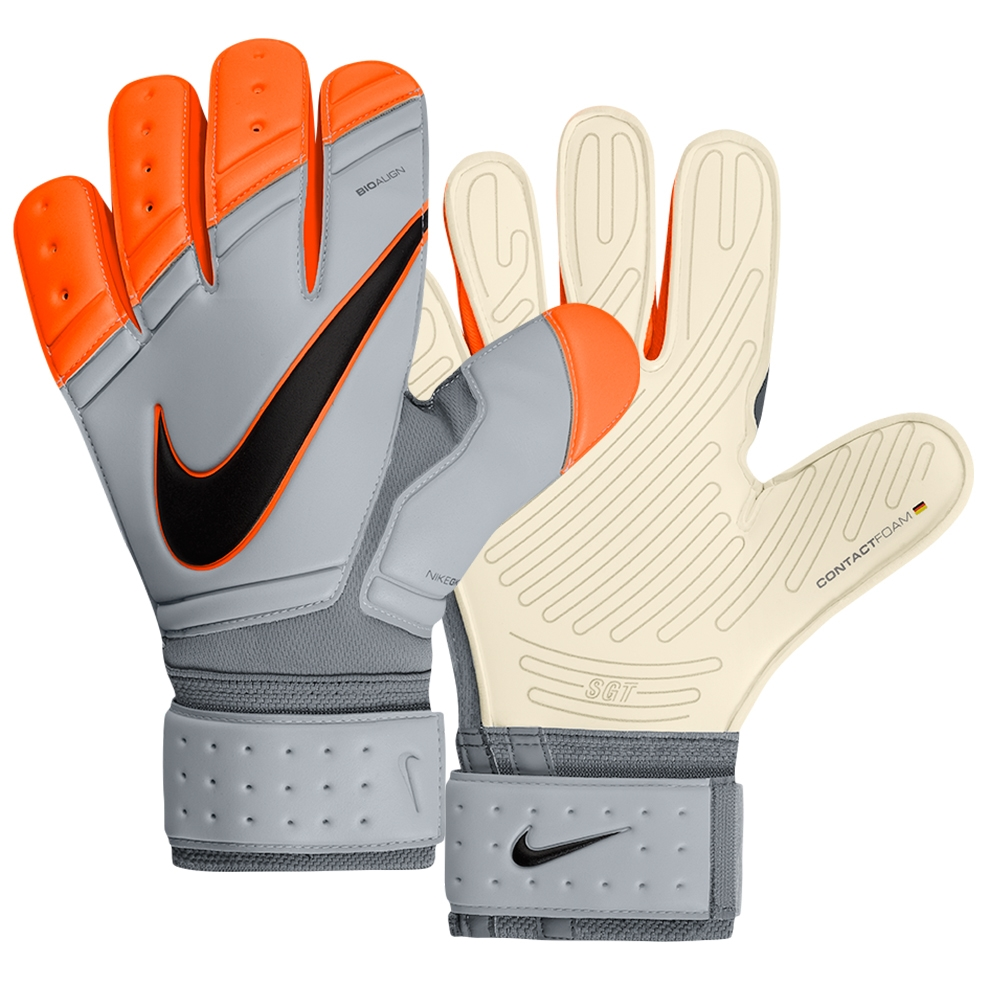 Premier SGT Soccer Goalkeeper Glove (Grey Total Orange)  d3b6819c5b