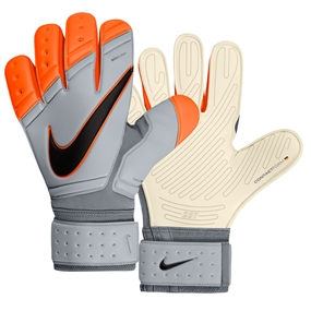 Nike Premier SGT Soccer Goalkeeper Glove (Grey/Total Orange)