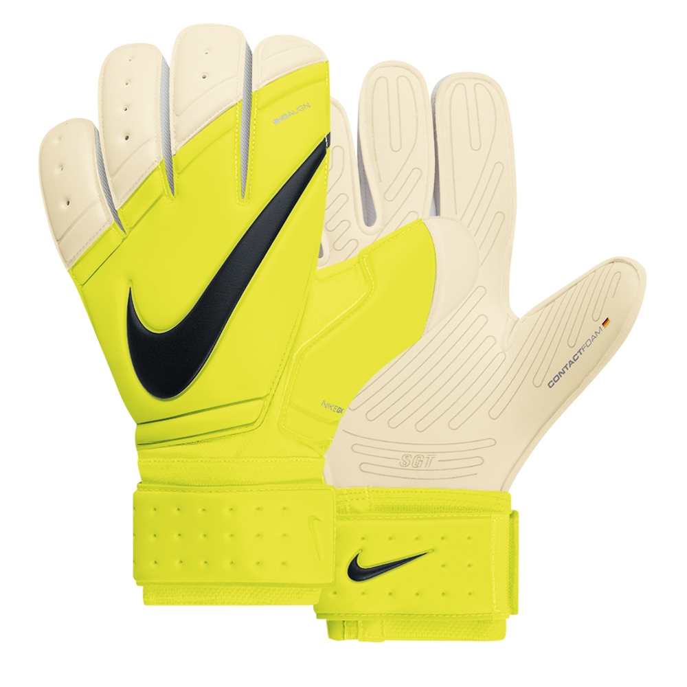 Black nike goalkeeper gloves - Nike Premier Sgt Soccer Goalkeeper Glove Volt White Black