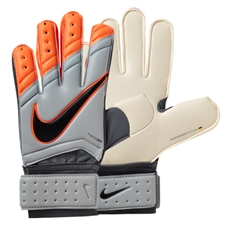 Nike Goalkeeper Spyne Pro Soccer Gloves (Grey/Total Orange)