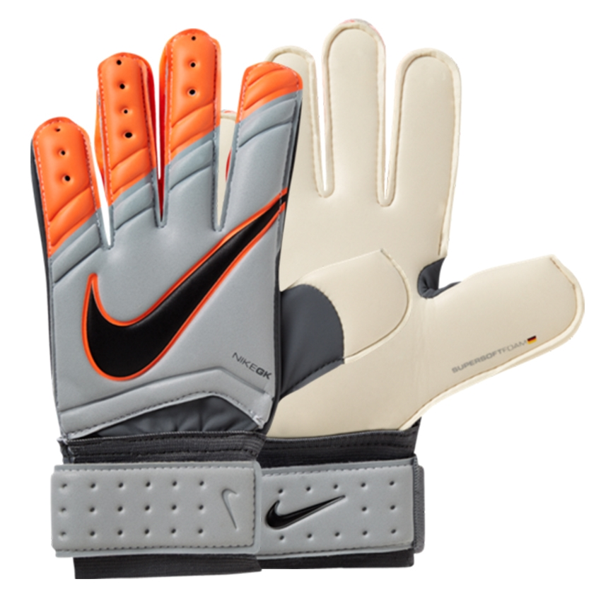 Nike Soccer Gloves: Kids Goalkeeper Gloves With Finger Protection