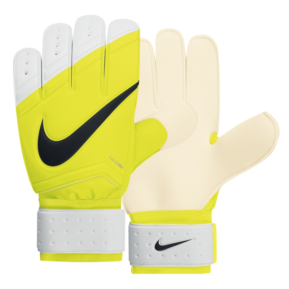 Black nike goalkeeper gloves - Nike Sentry Soccer Goalkeeper Gloves Volt White Black
