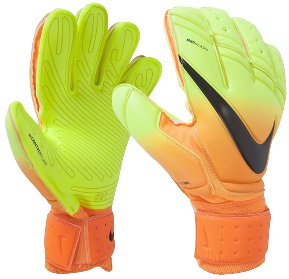 Black nike goalkeeper gloves - Nike Premier Sgt Soccer Goalkeeper Glove Bright Citrus Volt Black