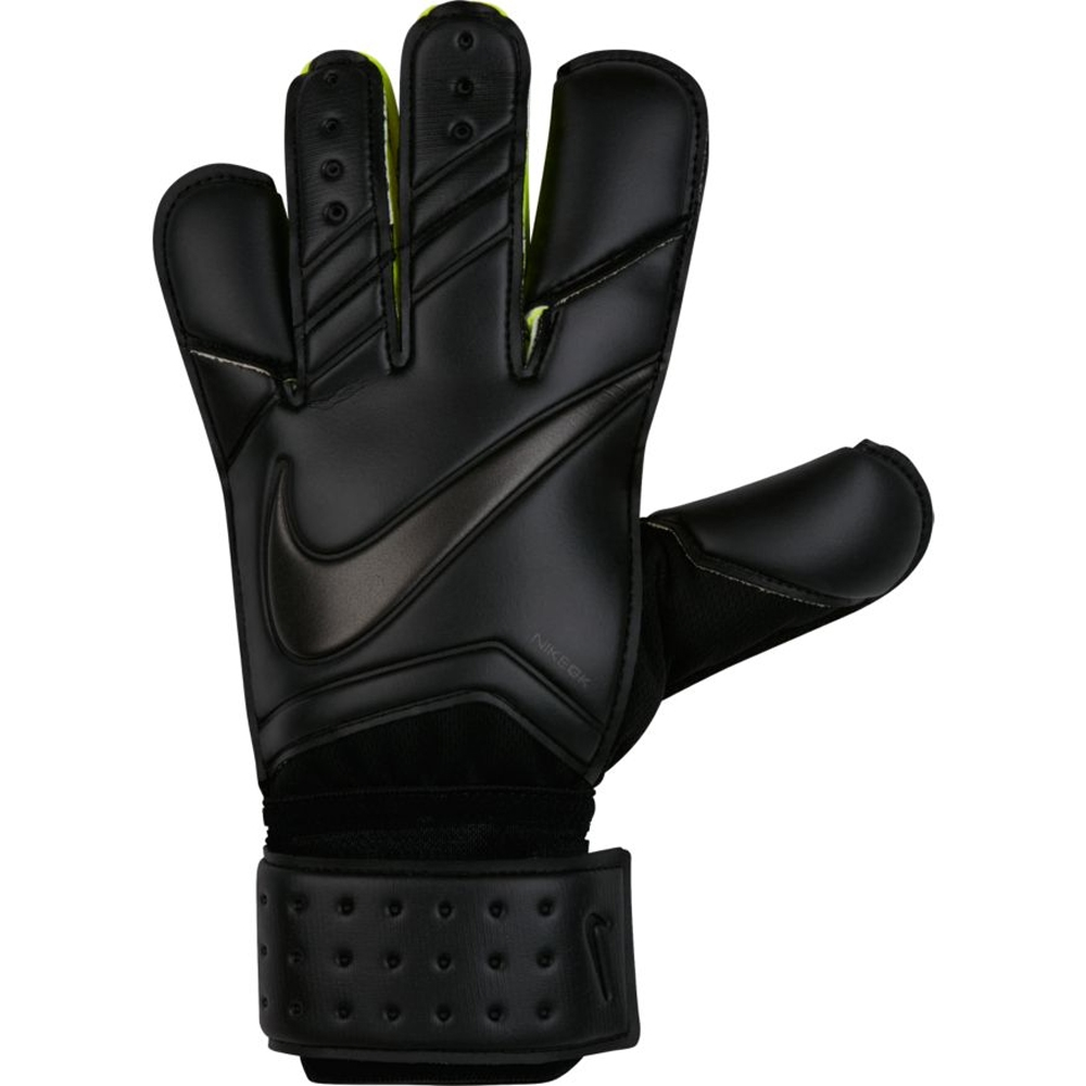 Black nike goalkeeper gloves - Nike Vapor Grip3 Soccer Goalkeeper Gloves Black