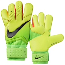 Nike Vapor Grip 3 Soccer Goalkeeper Gloves (Electric Green/Volt/Black)