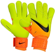 Nike Spyne Pro Soccer Goalkeeper Gloves (Bright Citrus/Volt/Black)
