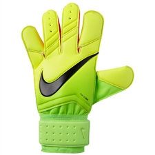 Nike Grip3 Soccer Goalkeeper Gloves (Electric Green/Volt/Black)