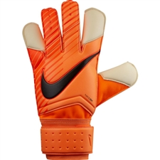 Nike Grip 3 Soccer Goalkeeper Gloves (Total Orange/Hyper Crimson/White/Black)